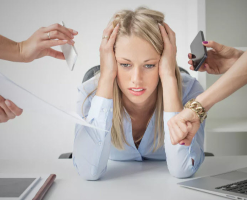 stresstest symptomer tegn på stress